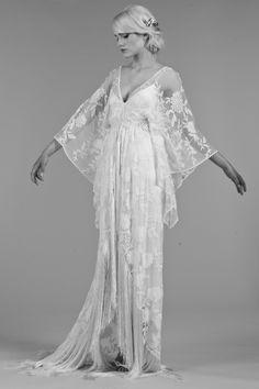 Robe de mariee boheme Rue de Seine Printemps Mariage Maria Luisa l La Fiancee du Panda blog mariage
