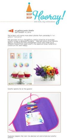 Cute Party-planning blog!