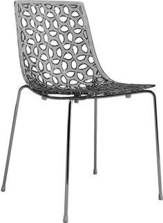 Enkelt og unikt design. Espalier har et spændende design med et helt unikt mønster, der giver stolen et let og luftigt design