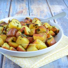 Laura Kookt: Gekruide citroen aardappelen - Laura's Bakery - spiced lemon potatoes