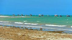 Bancos de corais vão até o estado de Pernambuco e formam uma das maiores barreiras do mundo. Praia de Paripueira / Maceió