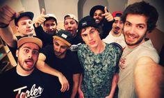 ✖✖✖ TEALER Gang Selfie ! ✖✖✖  → Find us on Instagram !  @iamtealer @Tealer @kevinohyes @konas94 @mtournament @djundeux @lyestagram @felitealergang @Laurent___p