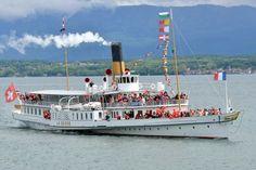 Steamers, Paddle, Opera House, Europe, Steam Boats, Paisajes, North Sea, Opera