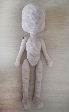 Cute crochet doll / picture tutorial