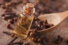 NATURAL TOOTH PAIN RELIEF: The smell of clove is absolutely memorable - unique, pungent, and spicy. Boy is it ever incredible if you have a toothache, though.Check out why it works so well AND save this recipe for relieving tooth pain when you need it! Home Remedies For Mice, Home Remedies For Cavities, Remedies For Tooth Ache, Natural Home Remedies, Essential Oils For Nausea, Ginger Essential Oil, Remedy For Sore Muscles, Yeast Infection Causes, Dry Socket