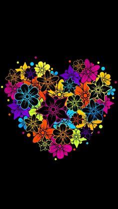 Heart Wallpaper, Trendy Wallpaper, Love Wallpaper, Cute Wallpapers, Wallpaper Backgrounds, Colorful Backgrounds, Wallpaper Ideas, Iphone Wallpapers, Wallpaper Iphone Disney