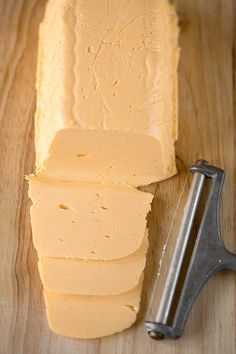 love making cheese and and this recipe for homemade American cheese is awesome. So long, Velveeta!I love making cheese and and this recipe for homemade American cheese is awesome. So long, Velveeta! How To Make Cheese, Food To Make, Making Cheese, No Dairy Recipes, Cooking Recipes, Yummy Recipes, Fromage Cheese, Cheese Bread, Cheese Sauce