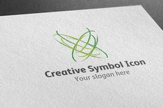 I just released Creative Symbol Icon Logo on Creative Market.