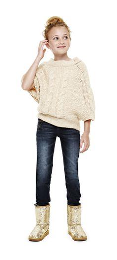cozy combo – arizona button poncho, sequin boots