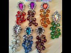 DIY || Cara Membuat Bros Dagu Juntai Kristal - Tutorial Bros Simple by Lista Tsurayya - YouTube Ornament Wreath, Kids And Parenting, Diy Tutorial, Hair Bows, Diy And Crafts, Dangles, Diy Projects, Youtube, Drop Earrings