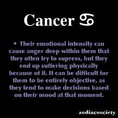Cancer Zodiac Facts:
