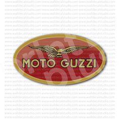 Moto Guzzi Italian Motorcycle Emblem Sticker for - Stickers Motorcycle Motorcycle Stickers, Homemade 3d Printer, Moto Guzzi, Fantasy Football, 3d Printing, Christmas Gifts, Tech, Gift Ideas, Architecture