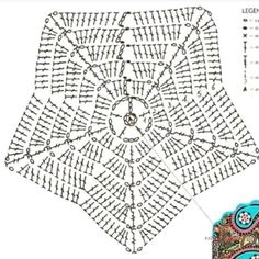 Best Pic Crochet Doilies tutorial Strategies Although many of the doilies that you see in stores today are manufactured from paper or machine lac Crochet Diy, Crochet Doily Patterns, Crochet Diagram, Basic Crochet Stitches, Love Crochet, Crochet Doilies, Knitting Patterns, Crochet Ripple Blanket, Crochet Pillow