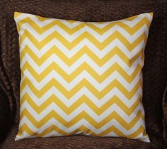 Baby Girl Bedding Pink Chevron Nursery Pillow Decorative Pillow Cover 18 x 18 Cotton Twill Pink Chevron Nursery, Yellow Chevron, Chevron Pillow, Girls Pink Bedding, Baby Girl Bedding, Gray Bedding, Nursery Room, Girl Nursery, Girl Room