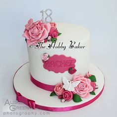 75 Best 18th Birthday cakes and cupcakes images | Beautiful cakes