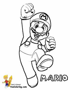 Mario Coloring Pages To Print Out | Amazing Super Mario Coloring ...