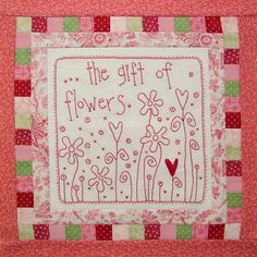 Love Is - 9 Part Block of the Month: Block 6