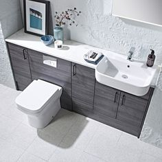 Super Ideas For Diy Bathroom Cabinet Makeover Vanities Sinks Diy Bathroom Remodel, Budget Bathroom, Bathroom Renovations, Bathroom Hacks, Bathroom Layout, Bathroom Interior Design, Bathroom Sets, Bathroom Cabinets, Bathroom Paneling