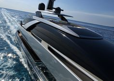 at the 2014 monaco yacht show, the riva 50m was announced as their first of the 'steel superyacht range'