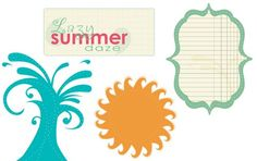 digital scrapbook freebies available each week for a free download - png format summer 2011