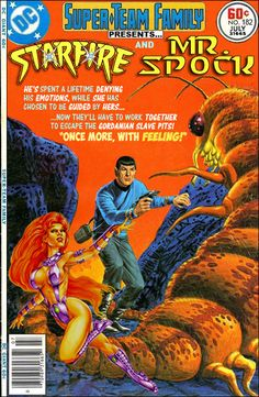 Super-Team Family: The Lost Issues!: Starfire and Mr. Spock