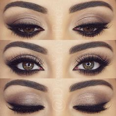 Perfect and simple eye makeup for going out or an everyday look. Barbiesky5