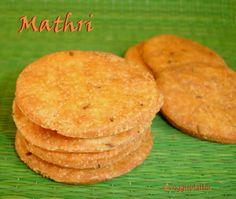 Mathri / Papdi