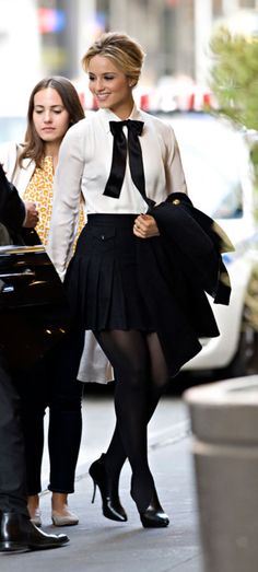Dianna arriving at MTV Studios from thatcrazystupidlove on tumblr
