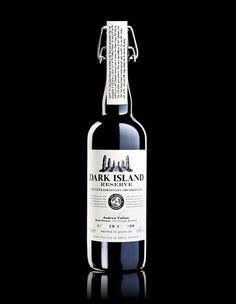 Dark Island Reserve Bottle Design