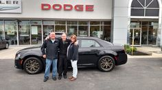 Susan and Scotty Bishop had their eyes set on this stunning Chrysler 300S Alloy edition and look who is taking it home! Sales consultant Tyler Martin took care of the details and we thank the Bishops for their business! http://www.zimmermotors.com/staff.aspx