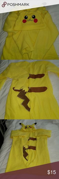 Pokemon Pikachu Costume Washed and ready for play! Pokemon Costumes