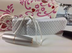 Set of 2 Lipstick Cases Small Zippered Bag by Phenomenal Women Shop