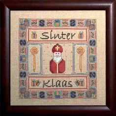 Sinterklaas Cross Stitch....ordered! Christmas In Holland, Cross Stitching, Netherlands, Cross Stitch Patterns, Projects To Try, Embroidery, Cute, December, Crafts