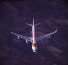 Original perspectiva de uno de nuestros Airbus A-340