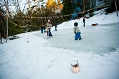 Outdoor skating party-maybe at the town ice rink? Ice Skating Party, Skate Party, Winter Fun, Winter Holidays, Backyard Ice Rink, Outdoor Skating, Yard Party, Outdoor Parties, Backyard Parties
