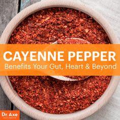 Cayenne pepper benefits - Dr. Axe