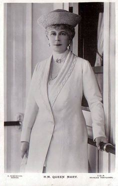 Königin Mary von England, nee Princess Maria Teck  by Miss Mertens, via Flickr