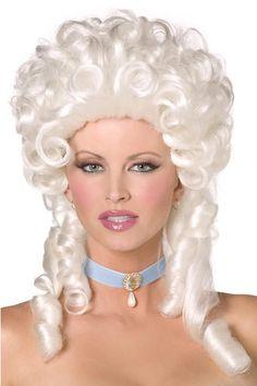 3wishes.com - Shoulder Length Baroque Wig, $24.95 (http://www.3wishes.com/accessories/wigs/shoulder-length-baroque-wig/)