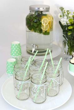 'Two Peas in a pod' a twin baby shower | CatchMyParty.com