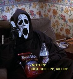 My Current October Mood. funny lol humor funny pictures funny memes funny pics funny images really funny pictures funny pictures and images Scary Movies, Horror Movies, Scary Movie Quotes, Halloween Movies, Funny Halloween, Happy Halloween, Spooky Halloween, 90s Quotes, Horror Quotes