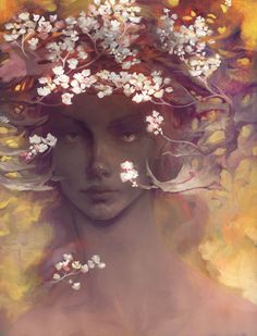 """""""I know a 'face' where the wild thyme blows, Where oxlips and the nodding violet grows, Quite over-canopied with luscious woodbine, With sweet musk-roses and with eglantine."""" William Shakespeare, A Midsummer Night's Dream"""