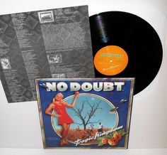 NO DOUBT tragic kingdom LP Vinyl Record with lyrics insert #punkAlternativeIndiePunkNewWave
