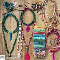 Regrann from @santobamboo - Eu escuto a cor dos passarinhos. -Manoel de Barros #bomdiaa #domingou #acessorios #accessories #hippie #boho #gypsy #jewelry #feitoamao #handmade #artesanal #art #originalart #japamala #energy #lifestyle #colar #necklace #pulseirismo #bracelets #mermaid #colorida #surfgirl #surfing #positivevibes #brincos #acessoriosfemininos - #regrann #beadedjewelryofinstagram #instacraftlove