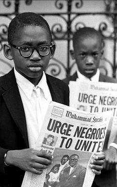 youth during revolution / Negroes Unite, Al Fennar, 1968.