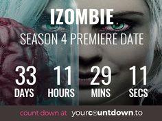 Countdown To iZombie Season 4 Release Date