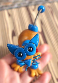 Mini Robot Cat by RobotsAreAwesome $25.00