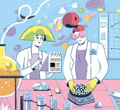 Sugar Scientists (MIT Technology Review) on Behance