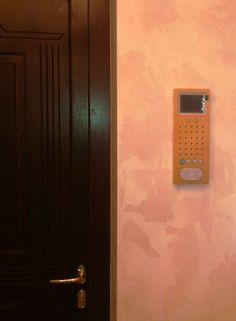 Siedle Gegensprechanlage Projekt von Perao.De. Внутренняя панель домофона (монитор), золото