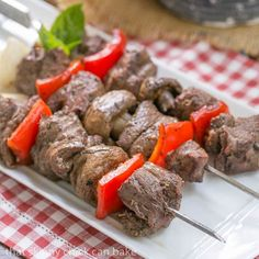 Summer is in full swing, despite the monsoon season that has hit the Midwest. Between our annual 4th of July cookout and our family Sunday suppers, there's always room for terrific grilled entrees, like these marvelous steak kabobs. Time for a Summer Barbecue This month's Blogger CLUE theme is Grilling and Summer Barbecue. I was assigned the blog of my friend, Wendy. She is one busy lady as she and her husband live on a large acreage, raise chickens and other farm animals and try to b...