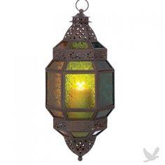 Large Moroccan Hanging Candleholder Lantern $34.98